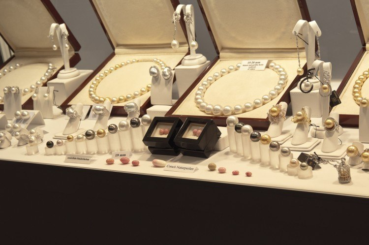 range of pearls at the munich show