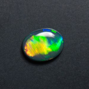 Black Opal , Rolling Flash Opal