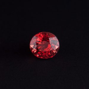 Reddish Orange Spinel 0.5ct