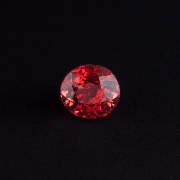 Reddish Orange Spinel 0.5ct