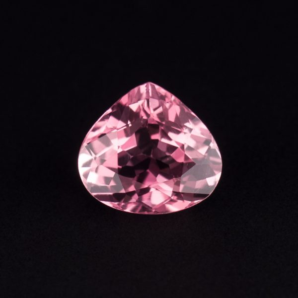 Pink tourmaline teardrop 1.1ct