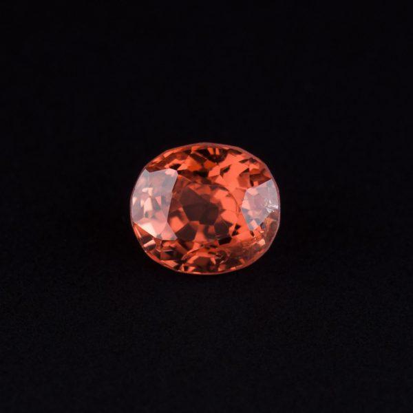 Orange Spinel Oval 0.6ct