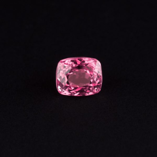 pink Spinel cushion cut