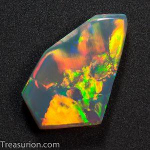 Australian Opal Flagstone Pattern 1.1ct
