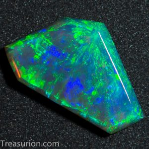 Asteria Pattern Double-sided Crystal Opal